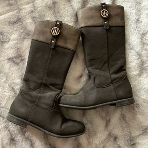 Girls tall Tommy Hilfiger boots